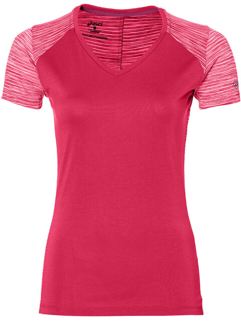 asics fuzeX V-Neck SS Top Women cosmo pink